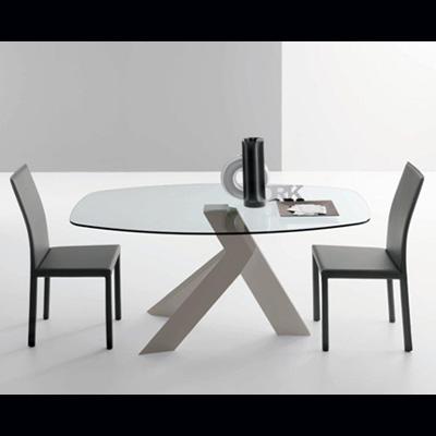 table de repas amo ovale raphaele meubles. Black Bedroom Furniture Sets. Home Design Ideas