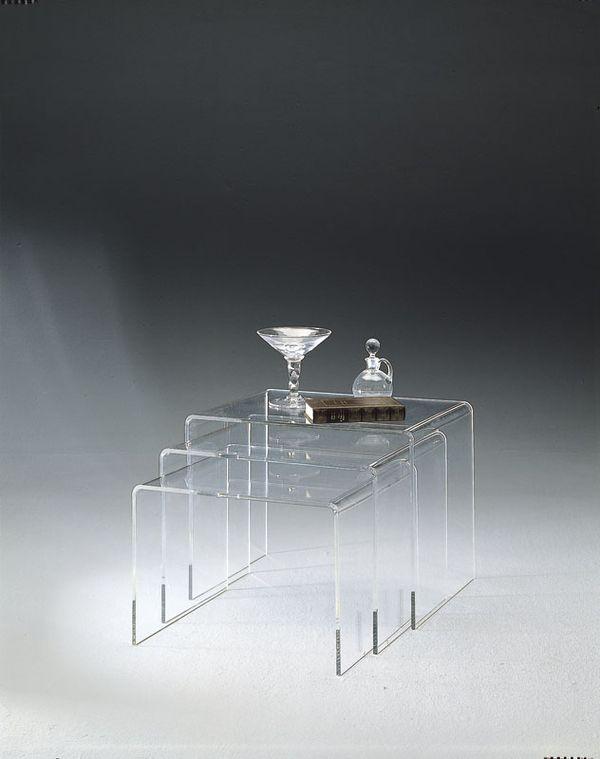 tables gigognes gd de marais with table gigogne plexiglas. Black Bedroom Furniture Sets. Home Design Ideas