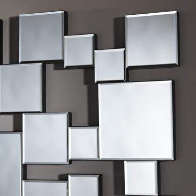 Miroir pixels de deknudt raphaele meubles for Miroir zigzag