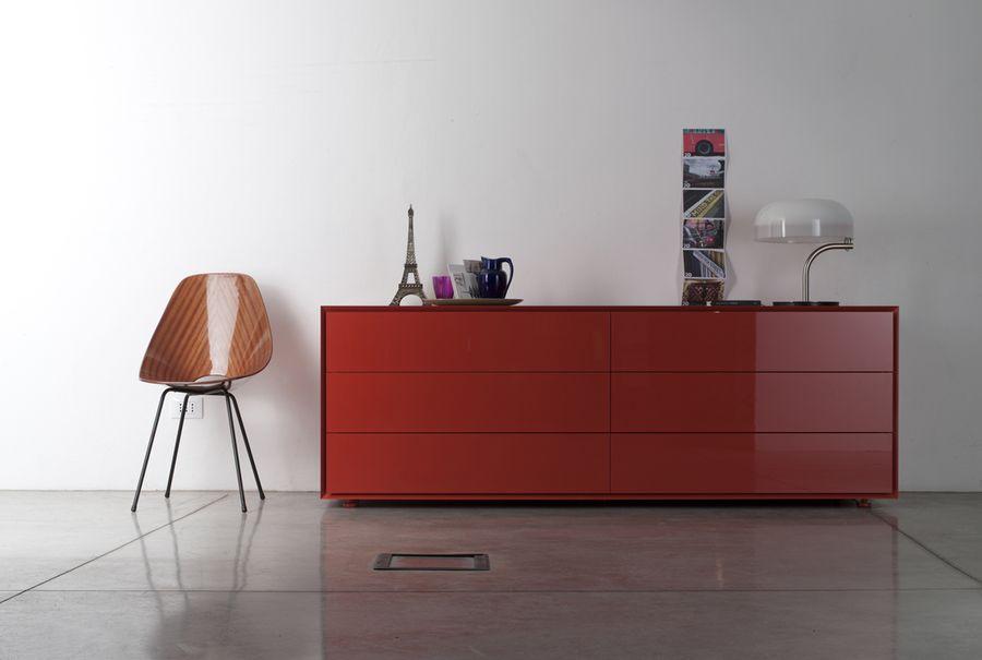 buffet quarantacinque rouge de capo d opera raphaele. Black Bedroom Furniture Sets. Home Design Ideas