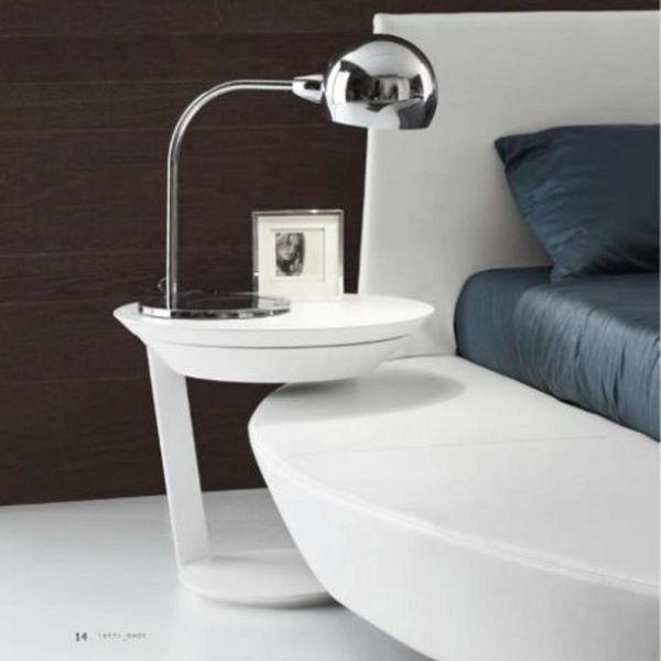 Table basse ronde point de presotto raphaele meubles - Table basse peinte ...