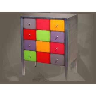 Commode kolors 4 tiroirs personnalisable raphaele - Meuble personnalisable ...