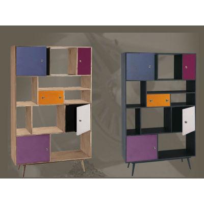 biblioth que color e raphaele meubles. Black Bedroom Furniture Sets. Home Design Ideas