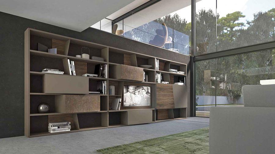 Composition crossart 531 de presotto raphaele meubles for Presotto mobili prezzi