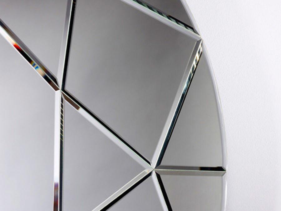 Miroir diamond round de deknudt raphaele meubles for Miroir zigzag