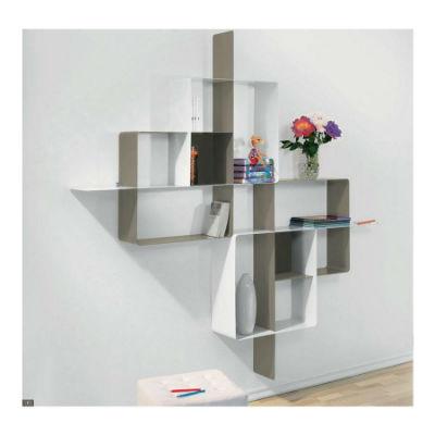 biblioth que modulaire murale mondrian de pezzani 5. Black Bedroom Furniture Sets. Home Design Ideas