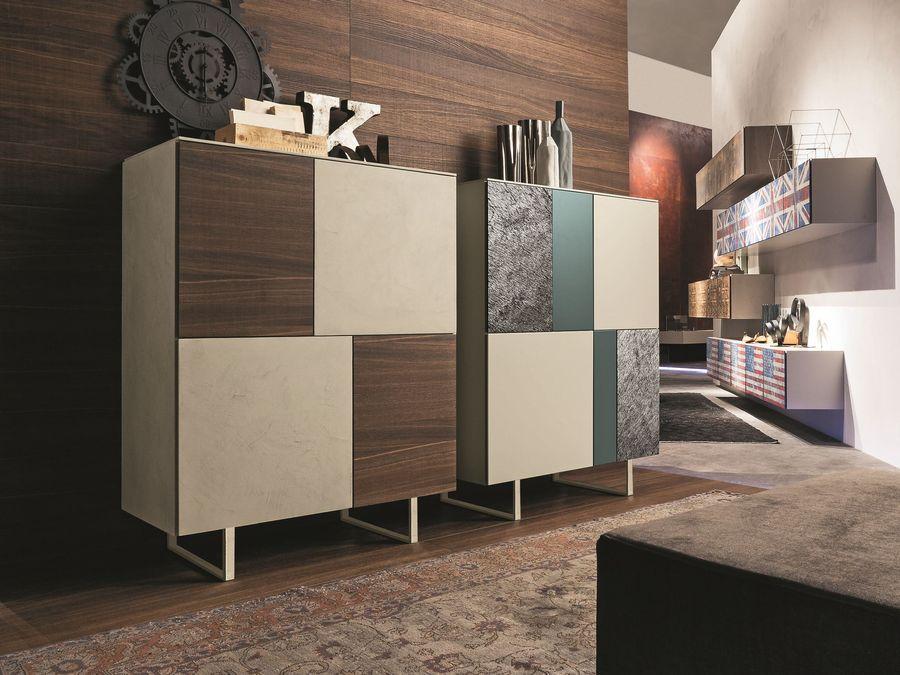 Buffet quadro i modulart de presotto raphaele meubles - Presotto mobili ...