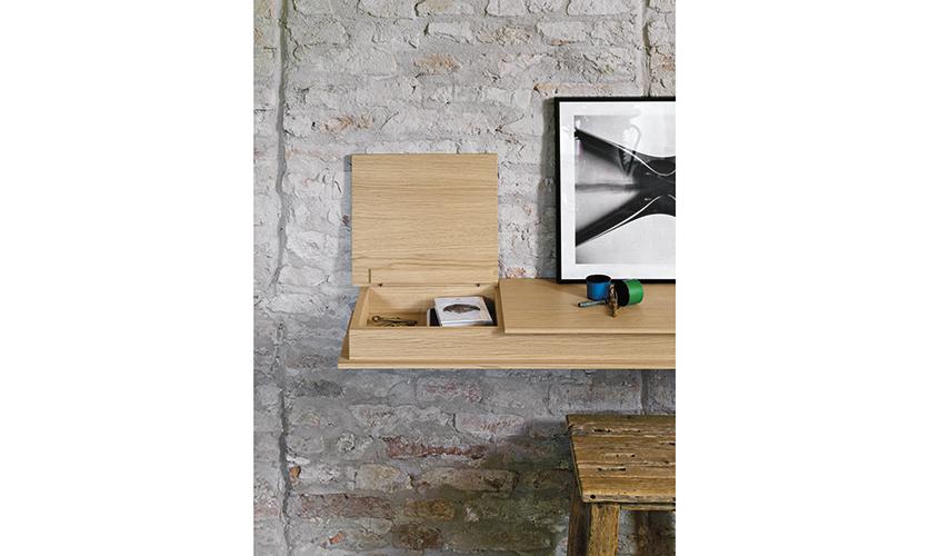 Tag re flap de sculptures jeux raphaele meubles - Console tablette murale ...