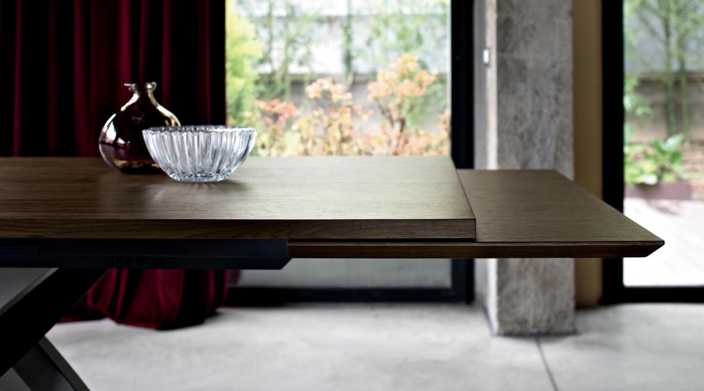 table artistico extensible de bontempi raphaele meubles. Black Bedroom Furniture Sets. Home Design Ideas