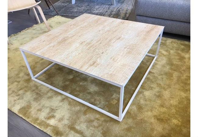 Table basse carrée en céramique