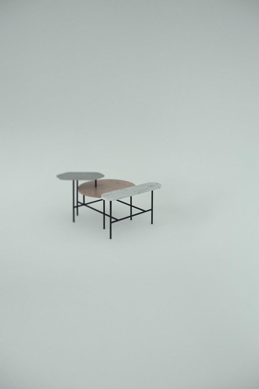 Table Basse Palette Jh6 De And Tradition Raphaele Meubles
