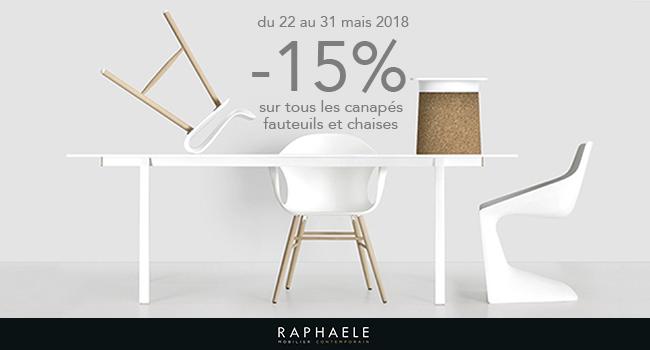 -15% du 22 au 31 mai 2018