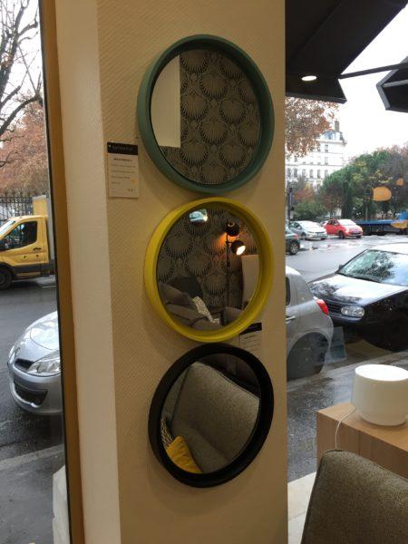 Miroirs ronds RADIUS S de Deknut