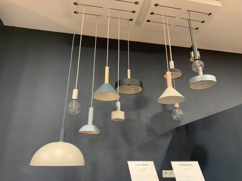 Luminaires d'exposition