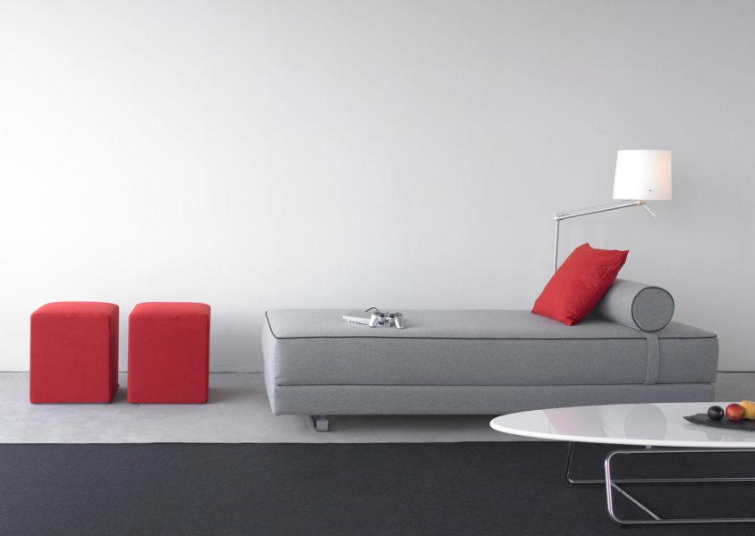 La méridienne canapé lit de Lubi de Kurt Brandt