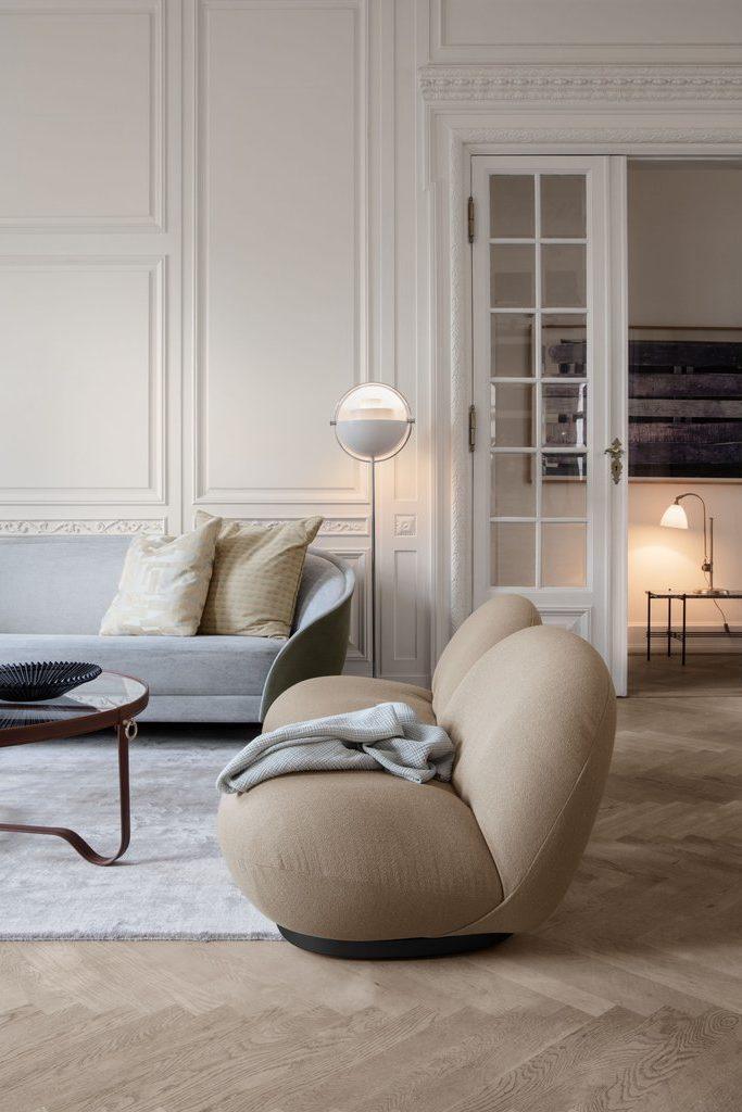 Fauteuil Pacha Lounge De Gubi Raphaele Meubles