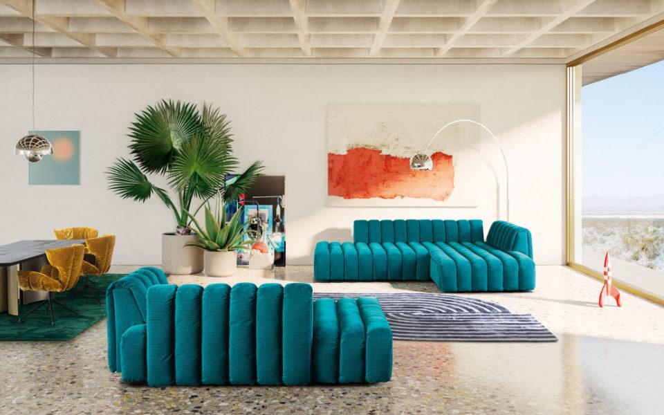 Canapé Moonraft de Bretz