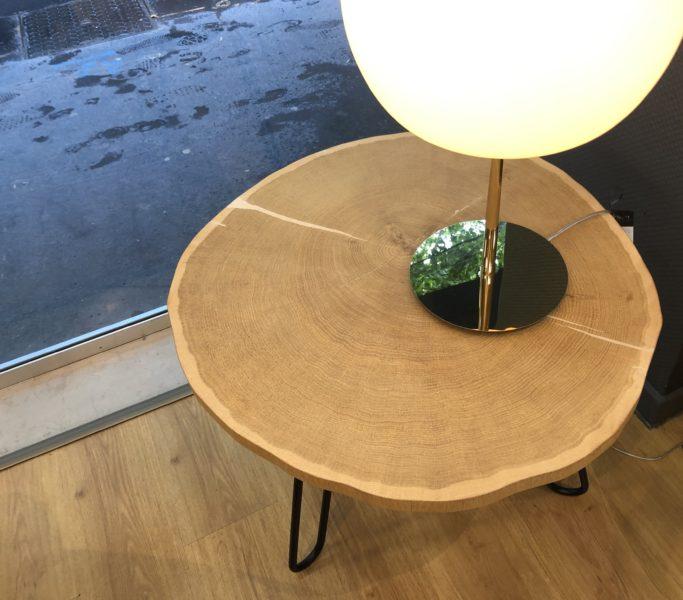 Table basse Porcino de miniforms – 50% SUR LE MODÈLE D'EXPOSITION