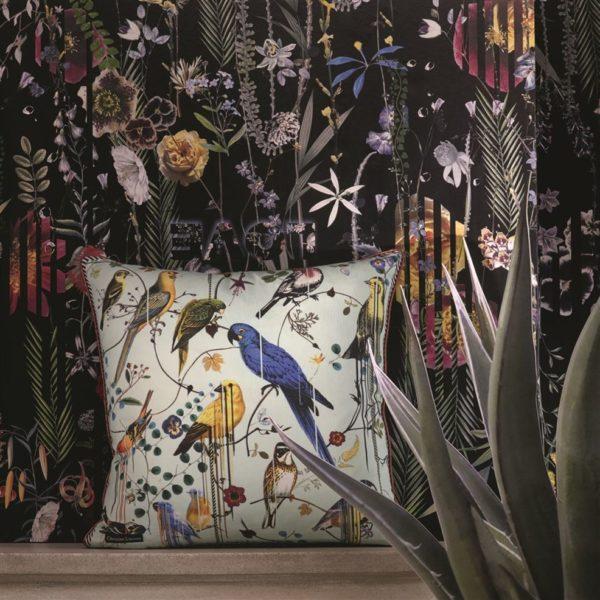 COUSSIN BIRD SINFONIA CREPUSCULE de Designers Guild By Christian Lacroix