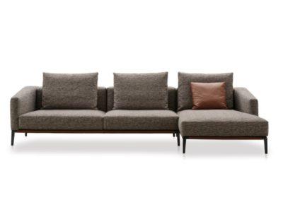 Des remises exclusives sur certains de nos canapés composables en commandes ! (Modèle Pace de Papadatos, dimensions et coloris de tissus au choix)