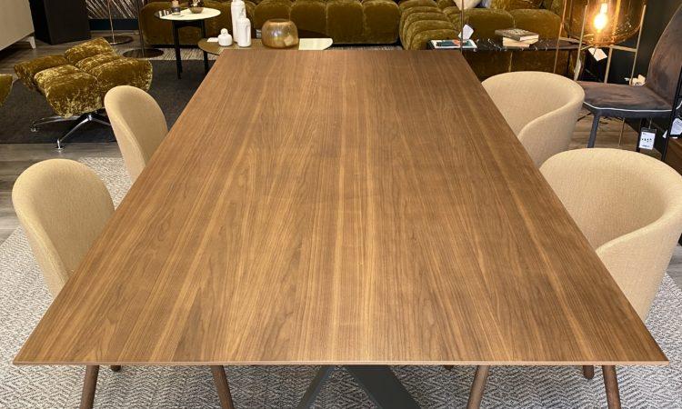 table soldée