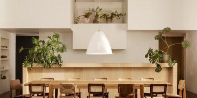 table et chaise bois design