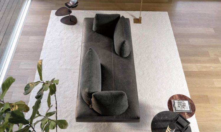 Canapé design noir tendance