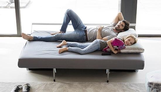 Canapé couchage double