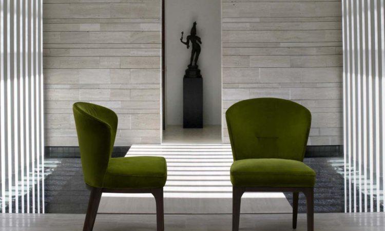 chaises vertes tendances