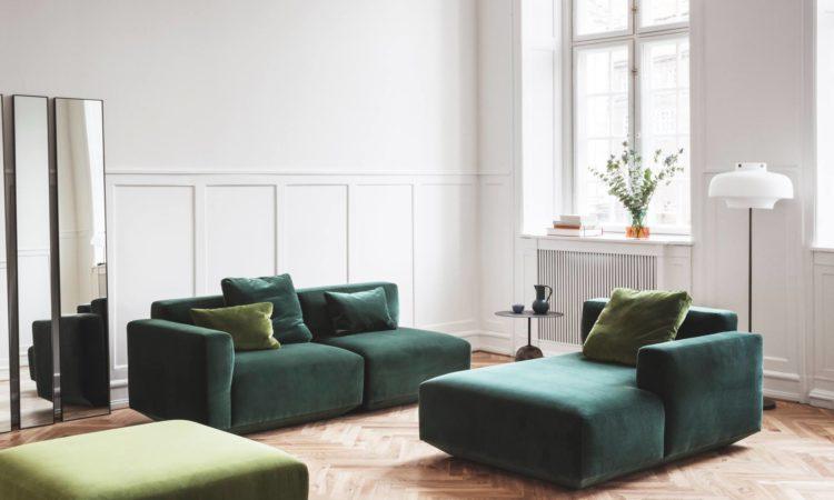 canapé vert tendance lyon