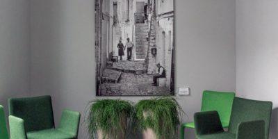 chaises vertes flash