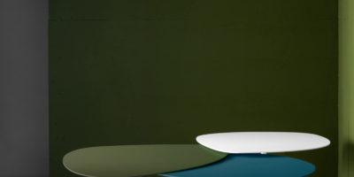 tables vertes colorés