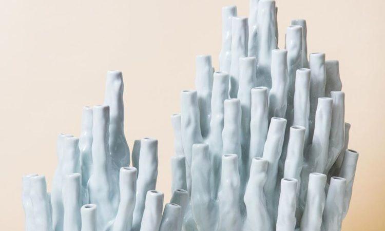 vase corail