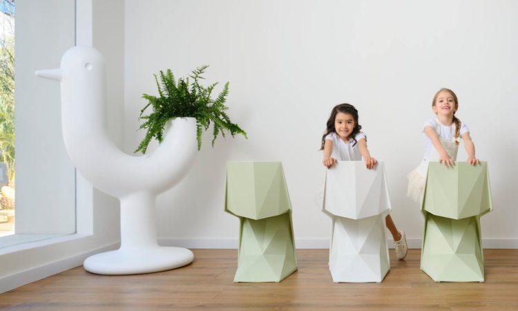 chaises enfant design