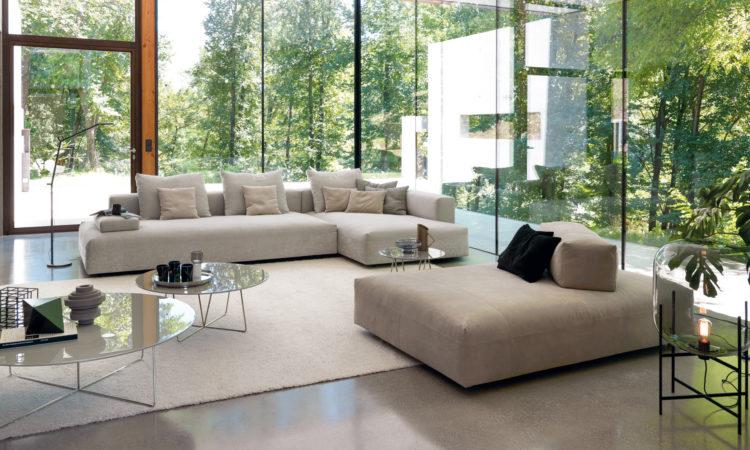 Canapé composable tissu